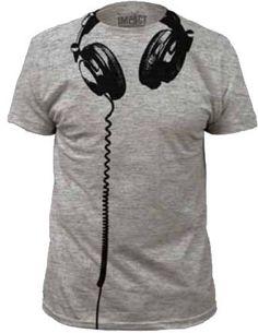 5a96ee0da68a9 Amazon.com  Impact Headphones big print subway fitted jersey tshirt   Musical Instruments