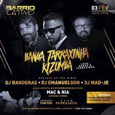 SEXTA: Aula Aberta MaC e Nia KIZOMBA POWER na festa BANGA TARAXINHA & KIZOMBA no Barrio Latino. #kizombapower #aulaaberta #kizomba #tarraxinha #semba #zouk @djsergiobanderas @ze_ferreira_aka_djmixzmaster #barriolatino @acapitaoabril_official @marianagcastro @bangaentertainment @nia_kizombapower @djmadje @deejay_emanuelson  @fonfon_7