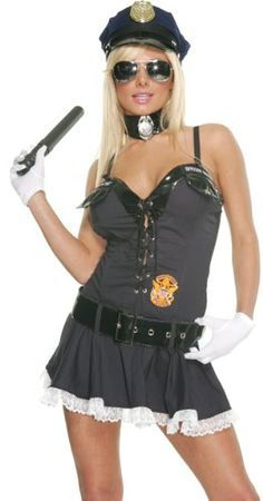 Sexy Police Officers Halloween Costumes