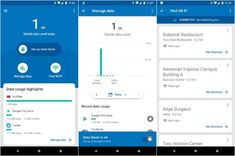 Google is introducing another stylish and simple Android application designed to help people manage one of their main functions of the phone – in this case, the use of data.