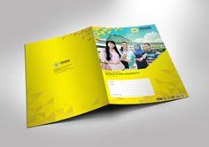 Folder business universitas bhayangkara surabaya