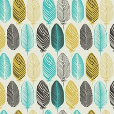 Feather Pattern by Gache Tiberiu Seamless Repeat Vector Royalty-Free Stock Pattern