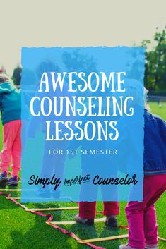First Semester: School Counseling Wrap-Up - Lessons, Activities + More! School Counseling Office, Elementary Counseling, School Social Work, Career Counseling, Elementary Schools, Primary Education, High Schools, Physical Education, School Counselor Lessons