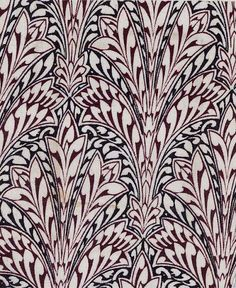 Owen Jones. Textile design, 1851 #textile #fabric