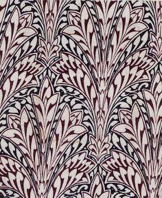 Owen Jones. Textile design, 1851 #textile #fabric