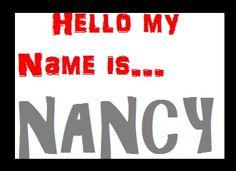 Nice To Meet, Meet You, Nancy Name, Letter N, Hello My Name Is, Going To Work, Names, Feelings, Deviantart