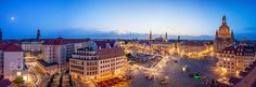 Blue Hour in Dresden by FrankSeltmann