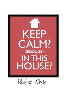 keep calm!?