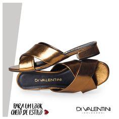 Chinelo Di Valentini na loja Rosenda Calçados  . ♥