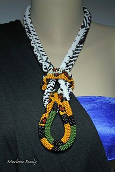 It's All About Creating: Wearing Bead Crochet Ropes