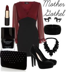"""""""Mother Gothel"""" by monkiez on Polyvore"""