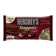 Hershey's Nuggets Special Dark Chocolate with Almonds, 12-Ounce Bags (Pack of 4)