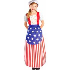 Childs Betsy Ross Dress Costume  sc 1 st  Pinterest & 4th of July Costumes | Homecoming | Pinterest | Costumes
