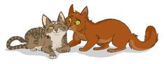 Sisterly Love - LxS by Graystripe64 on deviantART Squirrelflight and Leafpool