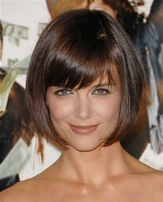 Sometimes I want to cut my hair this short. No bangs for me though.