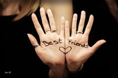 best friend photoshoot ideas... we could do this, But I'll try not to get ink poisoning this time!
