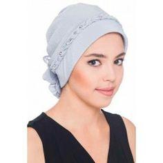 Braided & Beaded Headwear - Grey