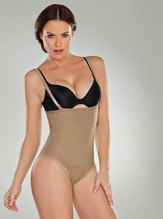 49941cdc51 Cocoon Light Line Thermal Strapless Braless Body Ref  Available in Panty or  Thong Abdominal thermal zone with latex