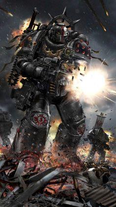 Warhammer 40K Database • redskullsmadhouse:   warhammer_40k_by_uncannyknack