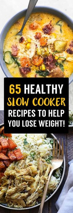 Slow Cooker Weight Loss Recipes That Will Help You Slim Down Fast! 65 Slow Cooker Weight Loss Recipes That Will Help You Slim Down Fast! - Slow Cooker Weight Loss Recipes That Will Help You Slim Down Fast! Healthy Slow Cooker, Crock Pot Slow Cooker, Crock Pot Cooking, Slow Cooker Meal Prep, Fast Cooker, Slow Cooker Dinners, Slow Cooker Casserole, Meatballs In Slow Cooker, Vegetarian Slow Cooker Meals