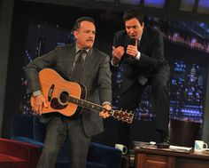 "Jimmy Fallon Photo - Tom Hanks Visits ""Late Night With Jimmy Fallon"""