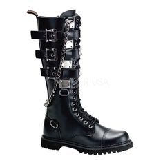 DEMONIA Schnallen-Ranger-Boots GRAVEL-23 195 €