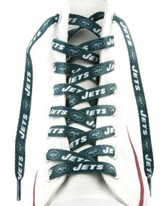 """New York Jets Shoe Laces - 54"""""""