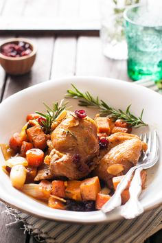 Sweet Potato Chicken Skillet Recipe on MyRecipeMagic.com
