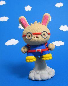 Rocket Rabbit Custom Dunny