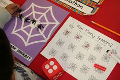 Mrs. Lee's Kindergarten: Spider Fun
