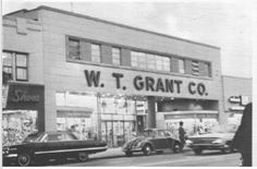 Grants on Main Street - I worked in the credit department downstairs