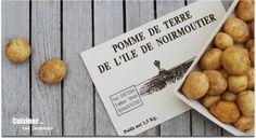 La pomme de terre de l'île de Noirmoutier - Cuisiner tout simplement Saveur, Place Cards, Place Card Holders, Luxembourg, Air, Food, France, Surf And Turf, Vegetarische Rezepte