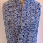 Orient Heights Infinity Scarf - via @Craftsy