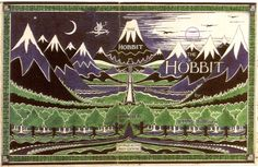 Book Cover Throwback: The Hobbit by J. Tolkien in honor of the last Hobbit movie coming out this week. Jrr Tolkien, Tolkien Books, The Hobbit Book Cover, Art Of Manliness, Fan Art, Neil Gaiman, Middle Earth, Lord Of The Rings, Childrens Books