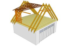 Dormer The Attic With Completely New Roof Trusses Trusses