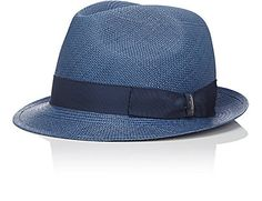Borsalino Straw Hat - Hats - Barneys.com       Whether he's visiting us in the city or we're at the park with the grandkids, Dad loves to sport a hat and has been doing so as long as we can remember. This one is perfect for summer. - Bryon and Dexter Peart