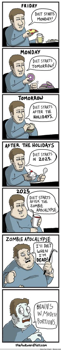 diet starts monday comic