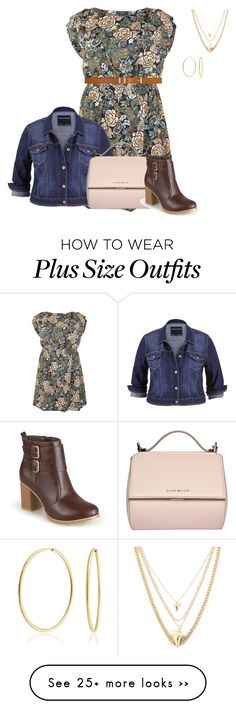 """""""plus size fall ready"""" by kristie-payne on Polyvore featuring maurices, Givenchy, Dorothy Perkins, Ettika, Bling Jewelry and Journee Collection"""