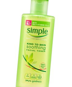 22 Best Toners and Astringents No. 7: Simple Soothing Facial Toner, $5.97