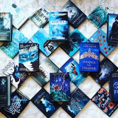 """676 Likes, 26 Comments - Eden ⚡️ (@eden.hammond) on Instagram: """"Here's just a little bit of blue for your Tuesday • • #bookstagram #bookstagramfeature…"""""""