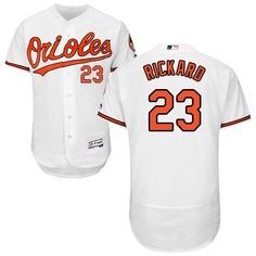 7966620066f Men Baltimore Orioles Majestic Home White Flex Base Authentic Collection  Custom MLB Jersey