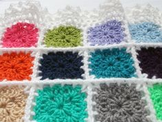 colourful blanket uses scraps left over