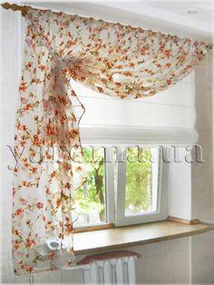 Шторы для кухни, столовой - Дизайн штор фото - Салон штор «Ярема» (Киев)