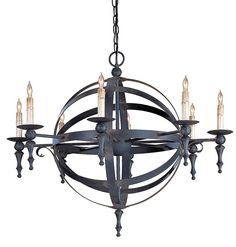 This Is The Chandelier I Chose For Our New Home. Love It!