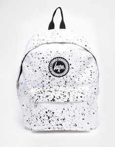 Hype+White+Speckle+Backpack