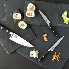 Mad Hungry Knife Set for great sushi rolls... #food #eats #drink