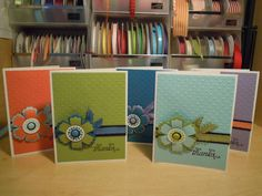 card set with Mixed Bunch