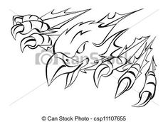 Hawk Talon Clip Art | Vector - eagle claw - stock illustration, royalty free illustrations ...