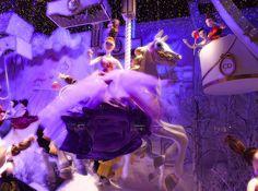 Les vitrines de Noël du Printemps signées Dior