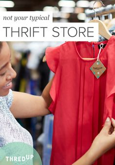 A new neutral. A pair of jeans you can live in. The statement piece of the season. This is not your typical thrift store. This is thredUP.com. We're adding 10,000+ double-tap-worthy secondhand finds every day, always from brands you love and always up to 90% off retail prices. Sign up today to start shopping the secondhand of tomorrow.